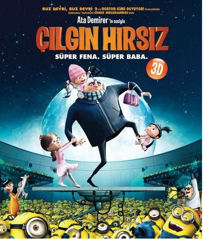 Cilgin Hirsiz - Despicable Me - 2010 - BRRip Film Afis Movie Poster