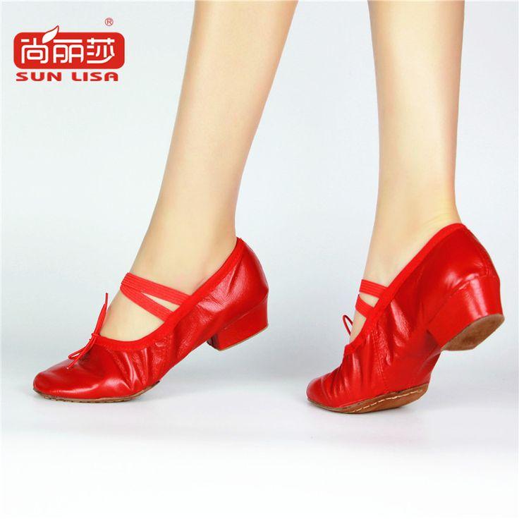Des enfants dansent chaussures filles chaussures de danse de ballet chaussures fond mou yoga chaussures,32