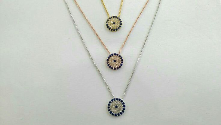 Evil eye chain necklace in sterling silver 925 with cz#thelittleshopAthens #etsy #jewelry #necklace #mati #greek #greekjewelry #greekjewellery #evileye #necklaceevileye #elegant http://etsy.me/2C9T7bq