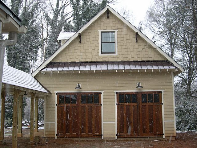 159 best carriage houses and garages images on pinterest for Carriage door plans