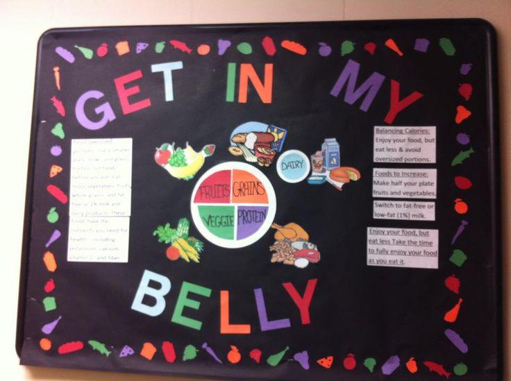 bulletin board for health class