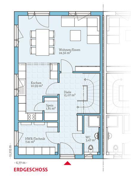 grundriss bungalow ddr verschiedene ideen f r die raumgestaltung inspiration. Black Bedroom Furniture Sets. Home Design Ideas