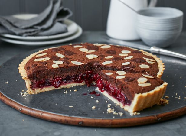 These beautiful Bakewell tarts with cocoa and chocolate have a unique twist to them to make them pack a sweeter punch. Using black forest these tarts are delicious & simple to make.