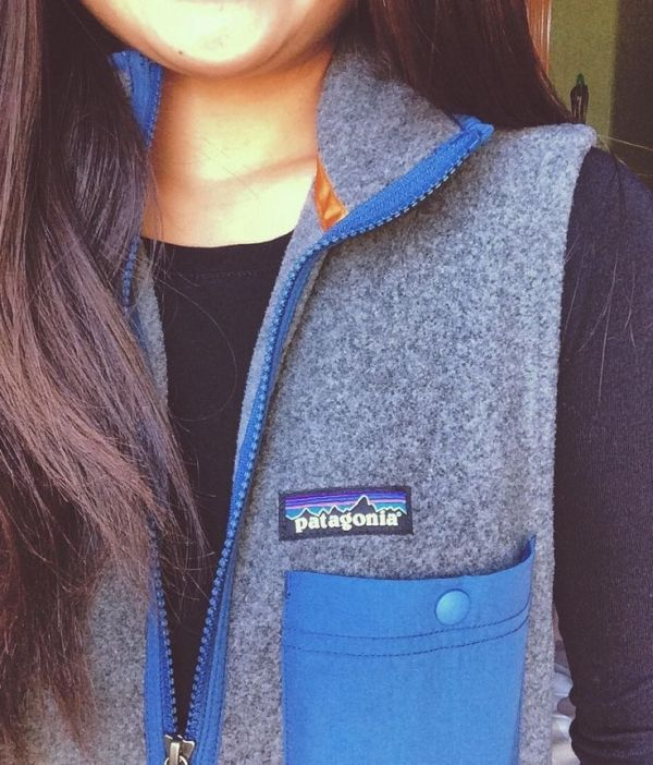 Patagonia fleece vest by adriana