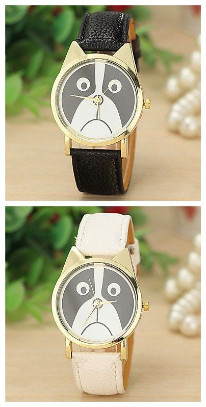 Awww, sad little creature! But cute, right? Check out this fun watch for 85% off until May 29!