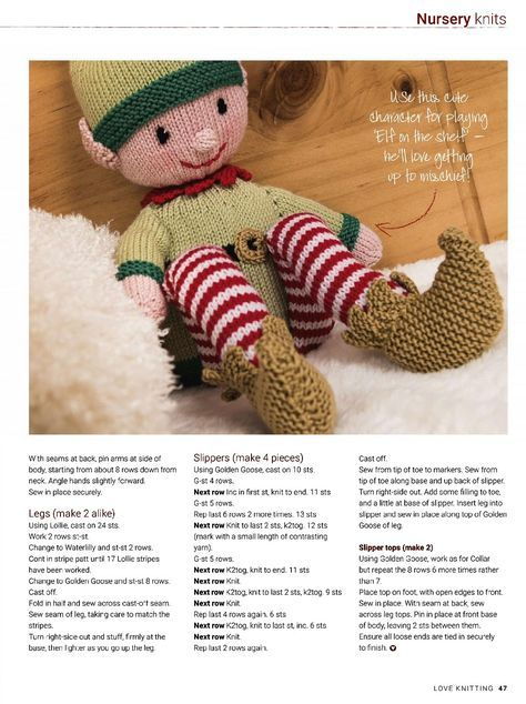 575 best knit toysdolls images on pinterest alan dart filet love knitting for baby december 2017 fandeluxe Gallery