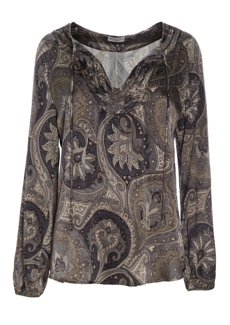 Angelica tunic - Paisley Taupe