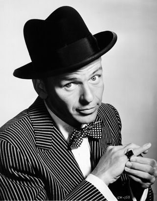 Frank Sinatra. He had the world on a string. He was sitting on a rainbow...