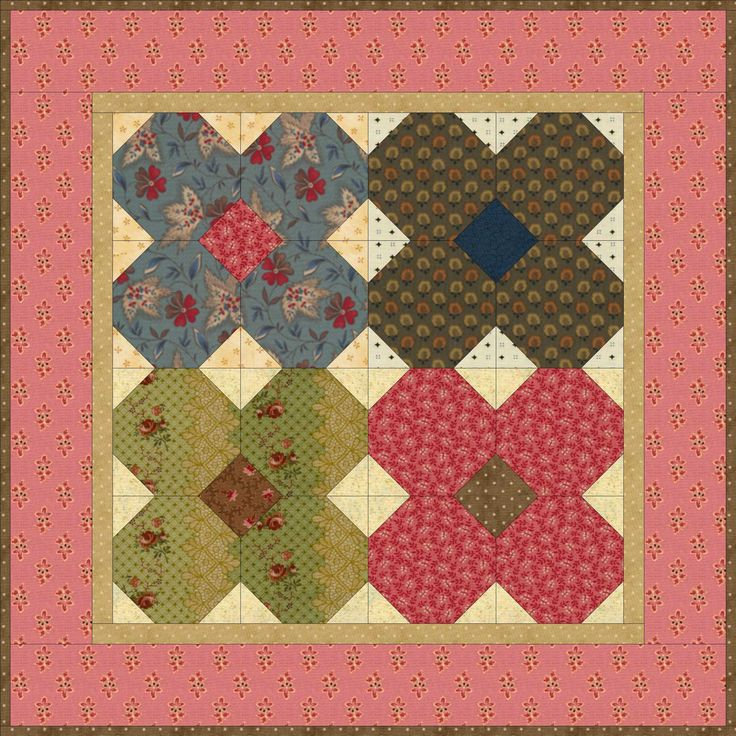 Free Quilting Patterns For Spring : Mayflowers.JPG from Country Lane Quilts..free pdf Quilts - Wall Hangings Pinterest Spring ...
