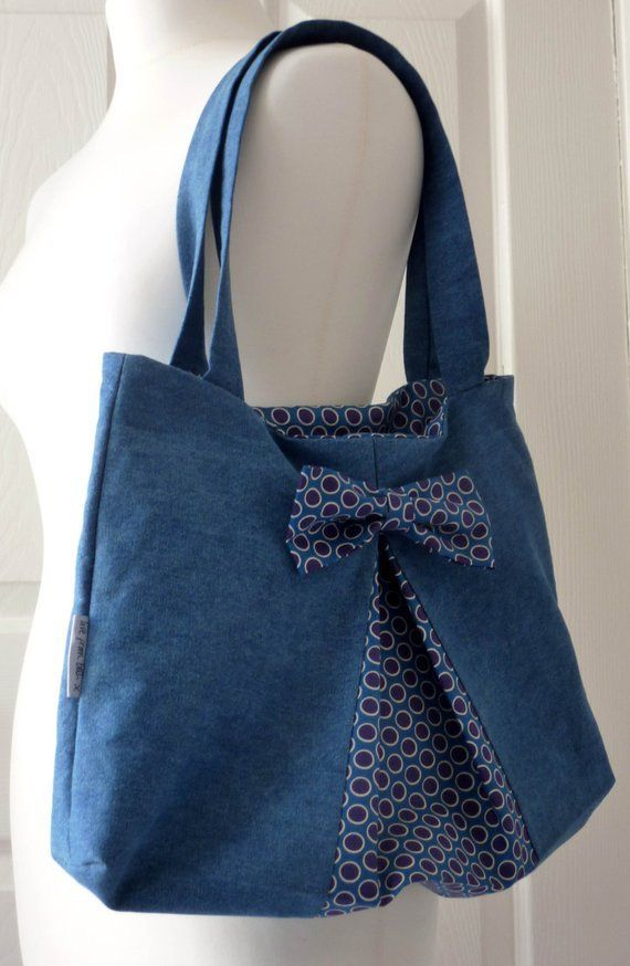 Easy Bow Bag PDF sewing pattern – #bag #Bow #easy …