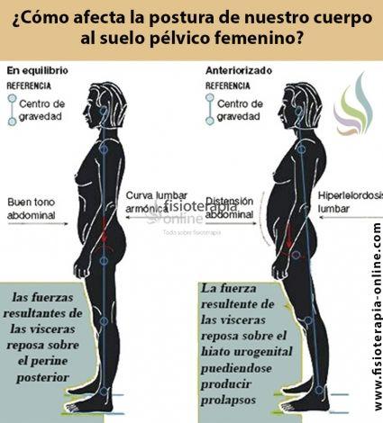 ¿Cómo afecta la postura corporal al suelo pélvico femenino? Que podemos hacer para mejorar el tono del suelo pélvico de la mujer. http://www.fisioterapia-online.com/articulos/gimnasia-abdominal-hipopresiva-beneficios-y-principios-basicos-de-realizacion