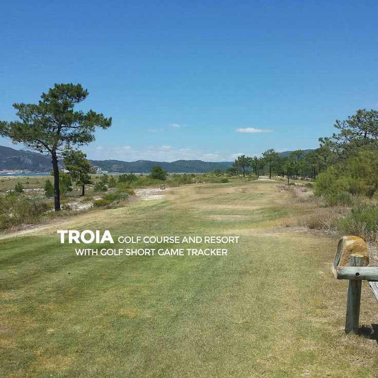 """Play great golf courses of the World like Troia Golf in Portugal. Practice to play your best with Golf Short Game Tracker. Download at http://www.golfshortgametracker.com"""