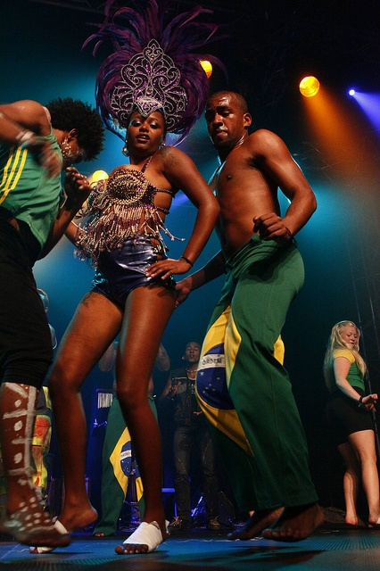 Just a little Nor-Brazilian Samba to raise the temperature......    The Grupo Cultural Beija-Flor (Hummingbird Cultural Group) from our project in Brazil, were responsible for the opening ceremony last saturday for this year's Extreme Sports Festival i Get The Latest Clothing and Accessories From Born 2 Struggle Industries!  www.born2struggle.spreadshirt.com