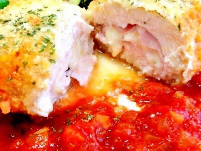 簡単★鶏むね肉でチキン・コルドン・ブルーの画像