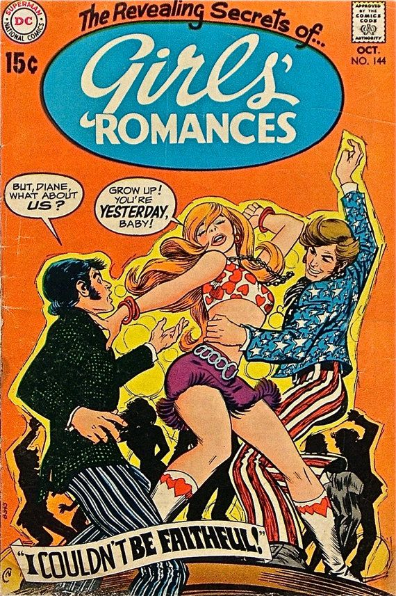 Romance Comic Books Vintage Lot of 3 from the by AmazingStories, $30.00