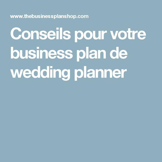 Conseils pour votre business plan de wedding planner