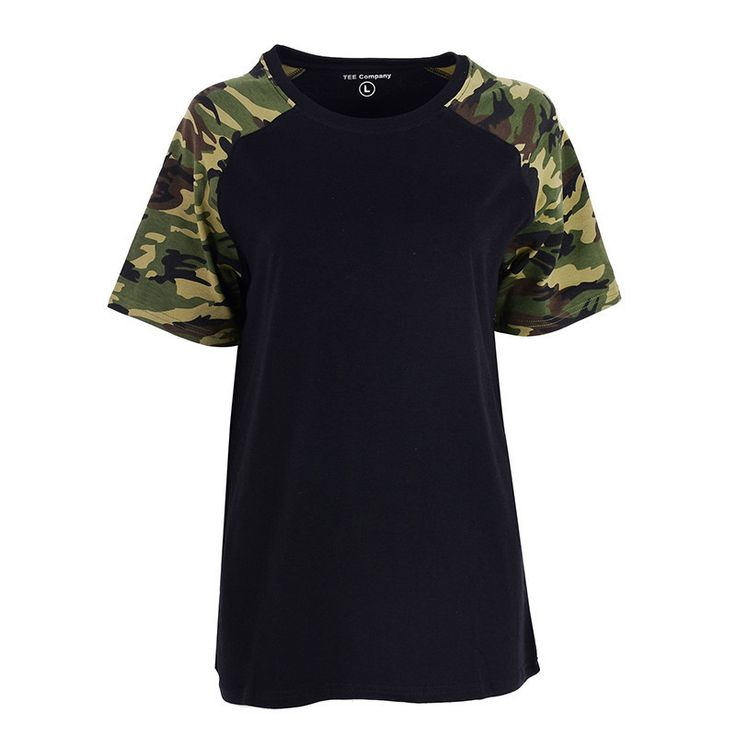 Camouflage T-shirt Cotton Army Tactical Combat T Shirt Military workout Camo Camp