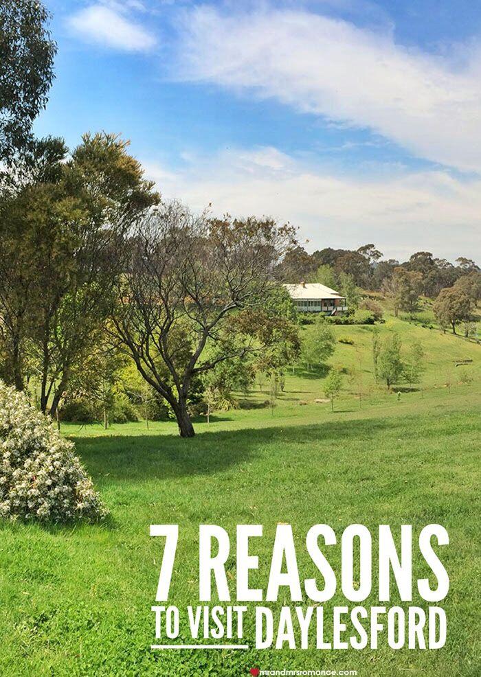 7 Reasons to Visit Daylesford, Victoria via. Mr & Mrs Romance | #Australia #Victoria #Daylesford