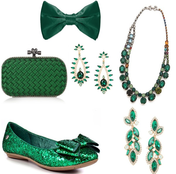Totally different idea, what about an emerald green wedding? Or doing jewel tones? I know it's still kind of dark, but could be pretty