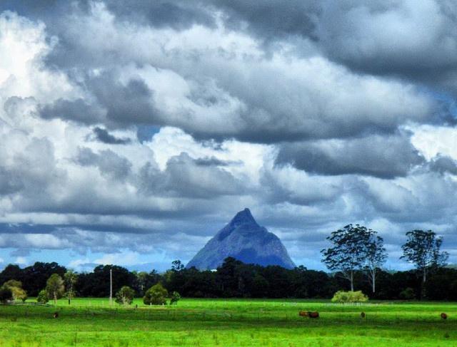 Mt Beerwah, Glasshouse Mountains, Queensland Australia