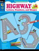 Highway Letters, Numbers, & Shapes: Ideas, Teaching, Numbers, Book, Highway Letters, Preschool, Kid, Shapes