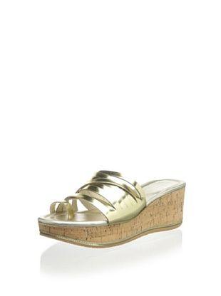 72% OFF Donald J Pliner Women's Sheena2 Platform Sandal (Platino)