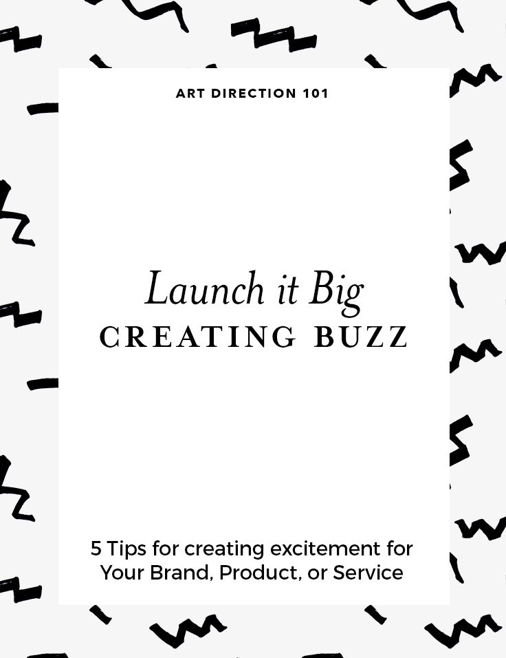 Launch it big! 5 tips for creating exciting for your new brand, product, or service. Click through to read the full post!