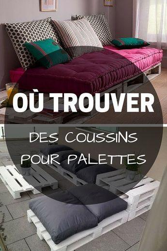 17 best ideas about coussin pour palette on pinterest. Black Bedroom Furniture Sets. Home Design Ideas