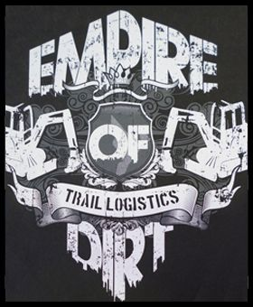 Empire of Dirt tee we screen printed WWW.ColourWorksnz.Com