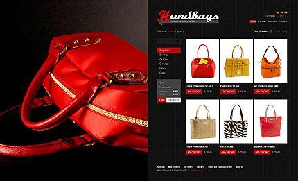 Handbag Boutique PrestaShop Themes by Mercury