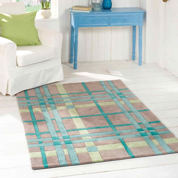 Infinite Funky Weave Rugs In Teal Green Online From The Rug Er Uk
