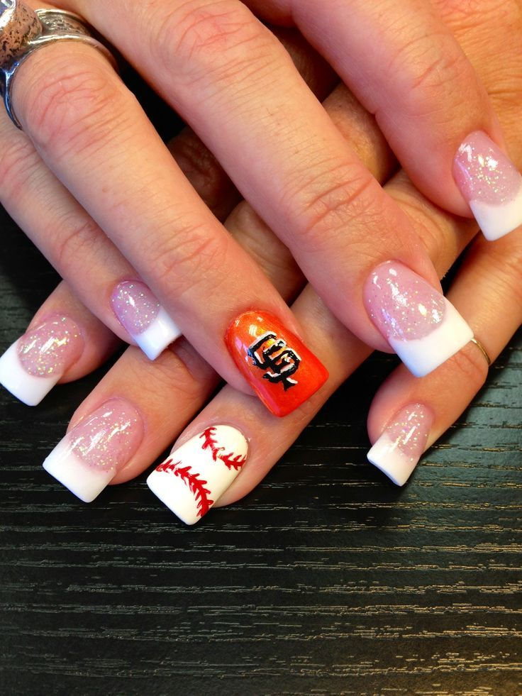 SF Giants nails!!! LOVE