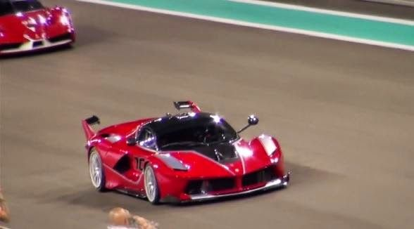 Monkey Motor: La nueva Ferrari LaFerrari FXX K salió a la pista ...