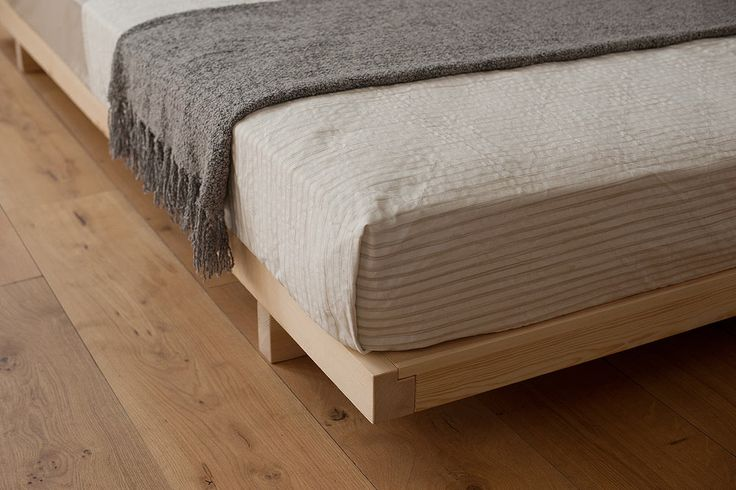Kobe | Low Bed | Handmade Solid Wood Beds | Natural Bed Company
