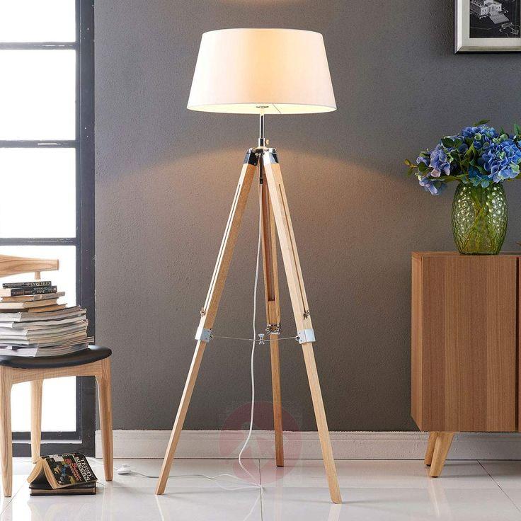 Gulvlampen Katie fra Lampenwelt.com #lamper #belysning #inspiration #nordisk #nordichome #lys #lampegiganten