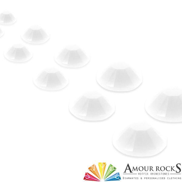 Snow White Hotfix Candy Rhinestones - Amour Rocks UK