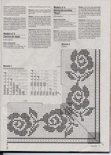 crochet - filet edgings - barrados / bicos filet - Raissa Tavares - Picasa Web Albums