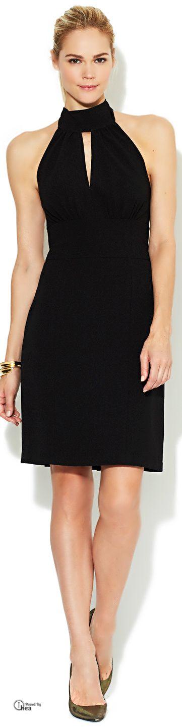 Rachel Zoe ● Crepe Halter Dress