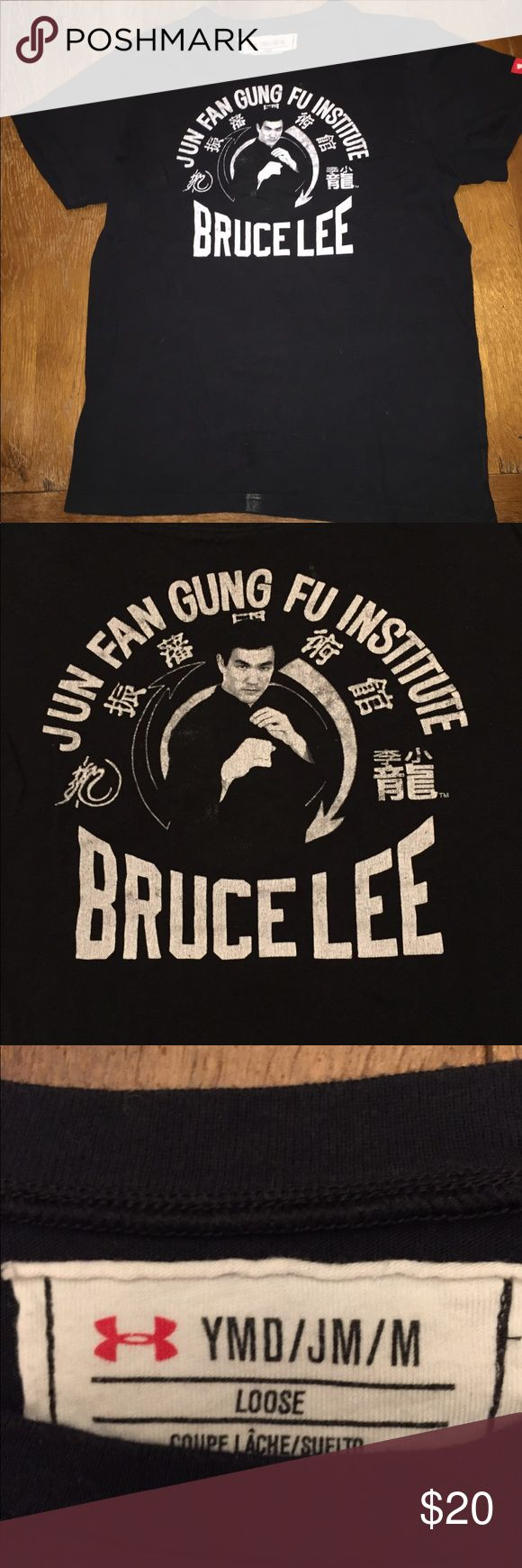 Retro Bruce Lee t shirt by Under Armour Excellent condition Under Armour Shirts & Tops Tees - Short Sleeve