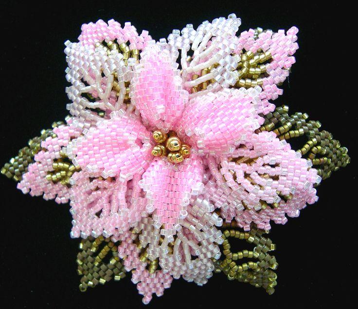 Pink Holiday Pin