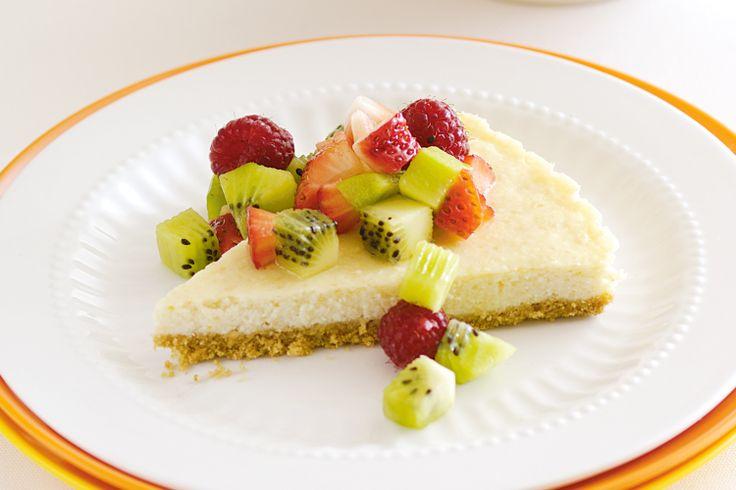 Lime Cheesecake Recipe - Taste.com.au
