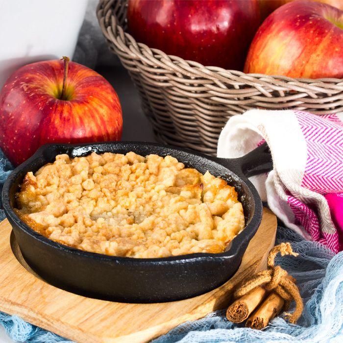 Äppelpaj – recept på enkel smulpaj