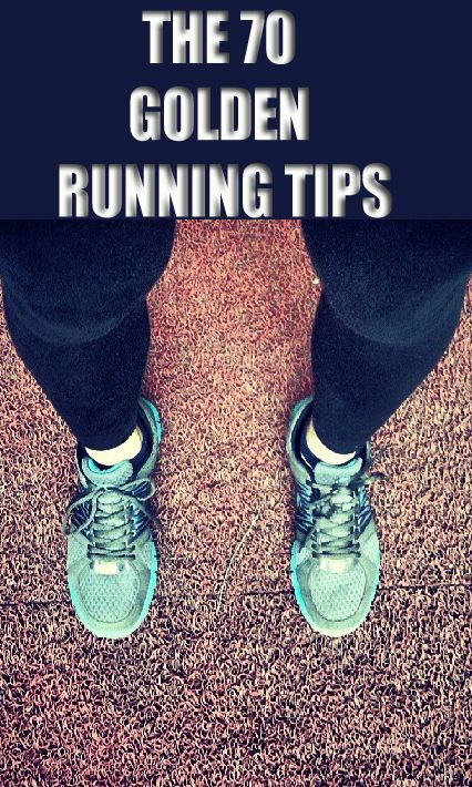 Disover the 70 Best Running Tips: Don't measure in distance but in time