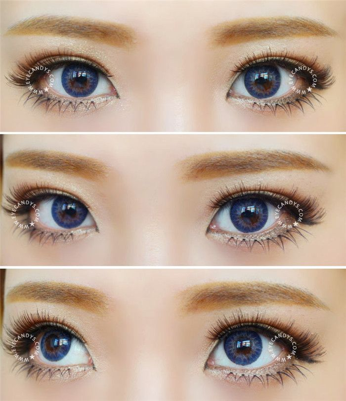 3 Tone Color Contacts Natural Circle Lenses Coloured
