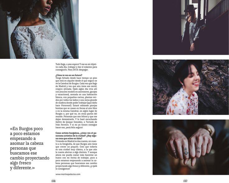[ FEATURED ] Entrevista en 190º Magazine / Revista en papel