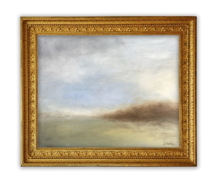 Clearing sky – oil on canvas