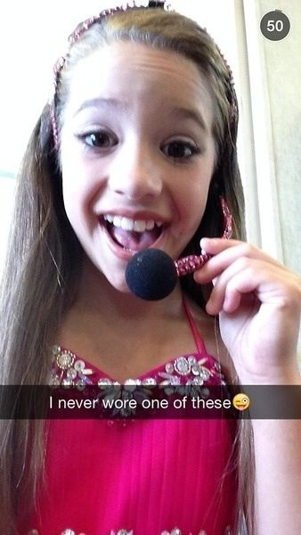 Lol I saw a pic of her and nia wearing one before Kenzie's show