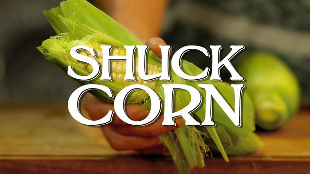 How to Shuck Corn | Watch the video - Yahoo! Screen......Just in time for Summer, learn how to shuck corn with our useful tips!