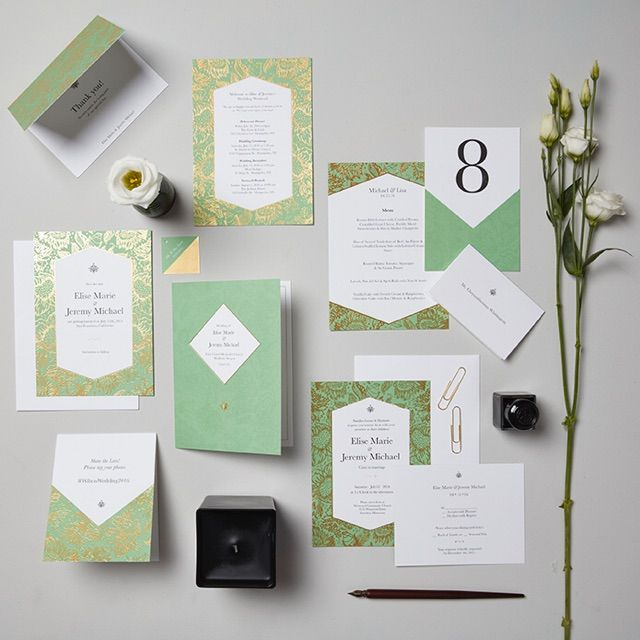 28 best Wedding Stationery Suites images on Pinterest