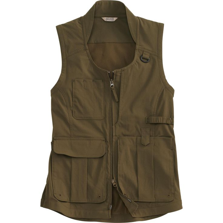 Improved women& Heirloom Gardening Vest has a bumper crop of functional  features, from light, tough DuluthFlex Ripstop fabric to 10 pockets.